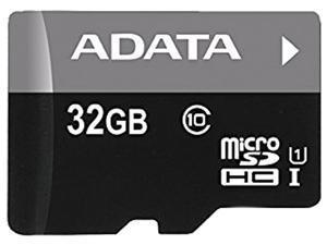 ADATA Premier 32GB microSDHC/SDXC UHS-I U1 Memory Card with One Adapter (AUSDH32GUICL10-RA1)