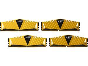 ADATA 16GB (4 x 4GB) 288-Pin DDR4 SDRAM DDR4 3200 (PC4 25600) Desktop Memory - Gold Edition Model AX4U3200W4G16-QGZ