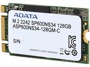 ADATA Premier SP600NS34 M.2 2242 128GB SATA III Synchronous MLC Internal Solid State Drive (SSD) ASP600NS34-128GM-C