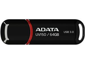 ADATA DashDrive UV150 64GB Flash Drive Model AUV150-64G-RBK