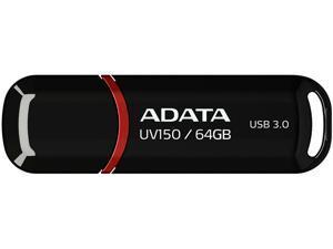ADATA DashDrive UV150 64GB Flash Drive Model AUV150-64G-RBK