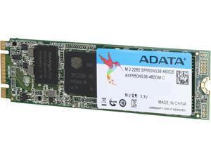ADATA Premier SP550 M.2 2280 480GB SATA III TLC Internal Solid State Drive (SSD) ASP550NS38-480GM-C