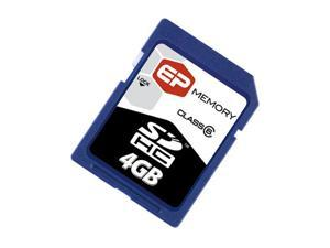 EP Memory 4GB Secure Digital High-Capacity (SDHC) Flash Card Model EPSDHC/4GB-6