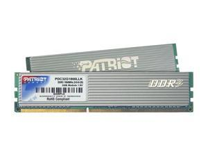 Patriot Extreme Performance 2GB (2 x 1GB) 240-Pin DDR3 SDRAM DDR3 1866 (PC3 15000) Dual Channel Kit Desktop Memory Model ...