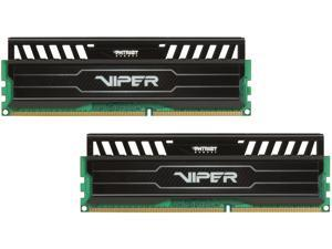Patriot Viper 3 8GB (2 x 4GB) 240-Pin DDR3 SDRAM DDR3 2400 (PC3 19200) Black Mamba Edition Desktop Memory Model PV38G240C1K
