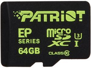 Patriot Patriot EP Series 64GB microSDXC Flash Card Model PEF64GEMCSXC10