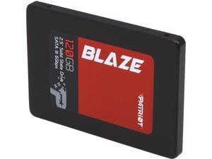 "Patriot Blaze 2.5"" 120GB SATA III Internal Solid State Drive (SSD) PB120GS25SSDR"