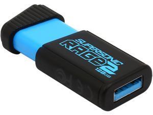 Patriot 128GB Extreme Performance Supersonic Rage 2 USB Flash Drive Model PEF128GSR2USB