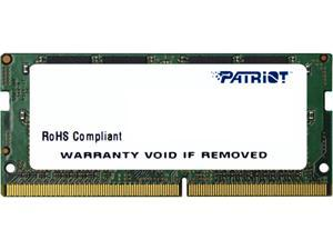 Patriot Signature Line 8GB 260-Pin DDR4 SO-DIMM DDR4 2133 (PC4 17000) Laptop Memory Model PSD48G21332S