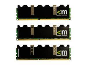 Mushkin Enhanced Blackline 3GB (3 x 1GB) 240-Pin DDR3 SDRAM DDR3 1333 (PC3 10666) Triple Channel Kit Desktop Memory Model ...