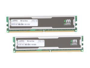 Mushkin Enhanced Silverline 2GB (2 x 1GB) 240-Pin DDR2 SDRAM DDR2 800 (PC2 6400) Desktop Memory Model 996758