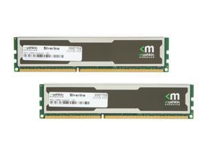 Mushkin Enhanced Silverline 4GB (2 x 2GB) 240-Pin DDR3 SDRAM DDR3 1333 (PC3 10666) Desktop Memory Model 996768