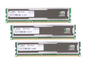 Mushkin Enhanced Silverline 6GB (3 x 2GB) 240-Pin DDR3 SDRAM DDR3 1333 (PC3 10666) Desktop Memory Model 998768