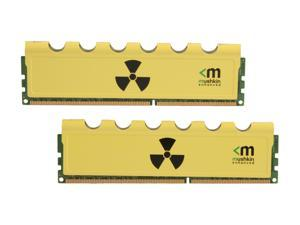 Mushkin Enhanced Radioactive 8GB (2 x 4GB) 240-Pin DDR3 SDRAM DDR3 1600 (PC3 12800) Desktop Memory Model 997005