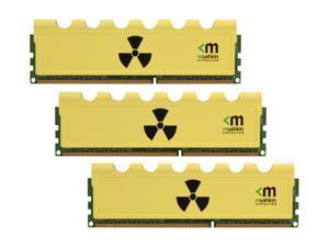 Mushkin Enhanced Radioactive 12GB (3 x 4GB) 240-Pin DDR3 SDRAM DDR3 1600 (PC3 12800) Desktop Memory Model 999005