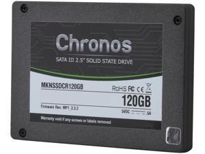 "Mushkin Enhanced Chronos 2.5"" 120GB SATA III MLC Internal Solid State Drive (SSD) MKNSSDCR120GB"