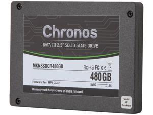 "Mushkin Enhanced Chronos 2.5"" 480GB SATA III MLC Internal Solid State Drive (SSD) MKNSSDCR480GB"