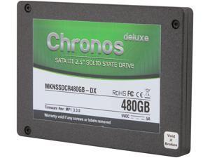 "Mushkin Enhanced Chronos 2.5"" 480GB SATA III MLC Internal Solid State Drive (SSD) MKNSSDCR480GB-DX"