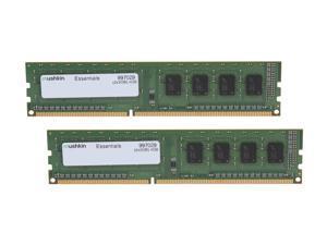 Mushkin Enhanced Essentials 4GB (2 x 2GB) 240-Pin DDR3 SDRAM DDR3L 1600 (PC3L 12800) Desktop Memory Model 997029