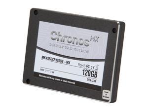 "Mushkin Enhanced Chronos Deluxe MX 2.5"" 120GB SATA III MLC Internal Solid State Drive (SSD) MKNSSDCR120GB-MX"