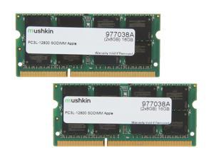 Mushkin Enhanced Essentials 16GB (2 x 8GB) DDR3 1600 (PC3 12800) Memory for Apple Model 977038A