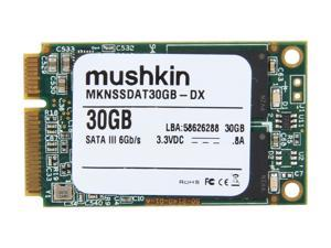 Mushkin Enhanced Atlas Series 30GB Mini-SATA (mSATA) Synchronous MLC Internal Solid State Drive (SSD) MKNSSDAT30GB-DX