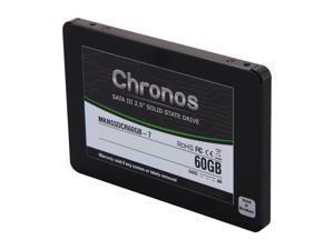 "Mushkin Enhanced Chronos 2.5"" 60GB SATA III 7mm Internal Solid State Drive (SSD) MKNSSDCR60GB-7"