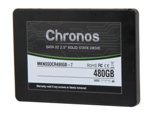 "Mushkin Enhanced Chronos 2.5"" 480GB SATA III 7mm Internal Solid State Drive (SSD) MKNSSDCR480GB-7"