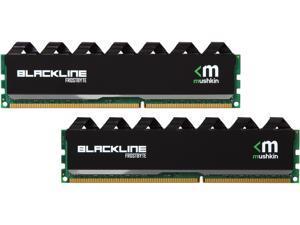 Mushkin Enhanced Blackline 8GB (2 x 4GB) 240-Pin DDR3 SDRAM DDR3L 1600 (PC3L 12800) Desktop Memory Model 996988F