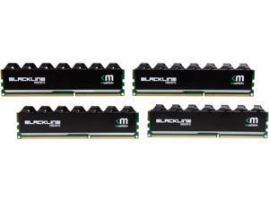 Mushkin Enhanced Blackline 16GB (4 x 4GB) 240-Pin DDR3 SDRAM DDR3 2400 (PC3 19200) Desktop Memory Model 994092Y