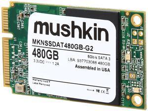 Mushkin Enhanced Atlas Series mSATA 480GB SATA III Internal Solid State Drive (SSD) MKNSSDAT480GB-G2