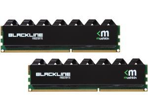 Mushkin Enhanced Blackline 8GB (2 x 4GB) 240-Pin DDR3 SDRAM DDR3 2133 (PC3 17000) Desktop Memory Model 997181F