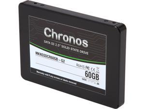 "Mushkin Enhanced Chronos 2.5"" 60GB SATA III MLC Internal Solid State Drive (SSD) MKNSSDCR60GB-G2"