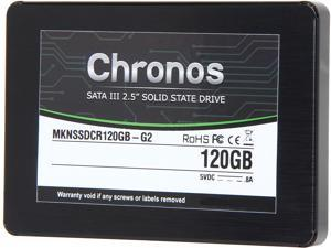 "Mushkin Enhanced Chronos 2.5"" 120GB SATA III MLC Internal Solid State Drive (SSD) MKNSSDCR120GB-G2"