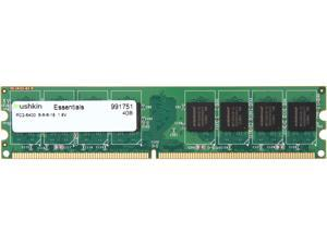 Mushkin Enhanced Essentials 4GB 240-Pin DDR2 SDRAM DDR2 800 (PC2 6400) Desktop Memory Model 991751