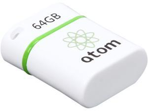 Mushkin Enhanced Atom 64GB USB Flash Drive Model MKNUFDAM64GB