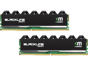 Mushkin Enhanced Blackline 16GB (2 x 8GB) 288-Pin DDR4 SDRAM DDR4 2400 (PC4 19200) Desktop Memory Model 997199F