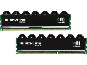 Mushkin Enhanced Blackline 8GB (2 x 4GB) 240-Pin DDR3 UDIMM DDR3 1600 (PC3 12800) Memory Model 996995F
