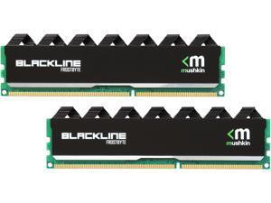 Mushkin Enhanced Blackline 16GB (2 x 8GB) 240-Pin DDR3 UDIMM DDR3 1600 (PC3 12800) Desktop Memory Model 997069F