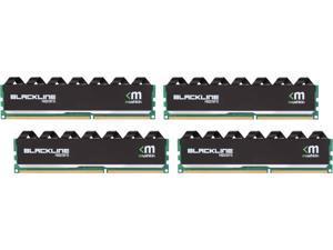 Mushkin Enhanced Blackline 32GB (4 x 8GB) 240-Pin DDR3 UDIMM DDR3 1600 (PC3 12800) Memory Model 994069F