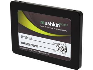 "Mushkin Enhanced ECO2 2.5"" 120GB SATA III MLC Internal Solid State Drive (SSD) MKNSSDEC120GB"