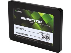 "Mushkin Enhanced Reactor 2.5"" 256GB SATA III MLC Internal Solid State Drive (SSD) MKNSSDRE256GB"