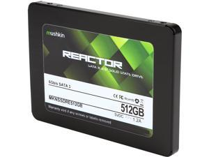 "Mushkin Enhanced Reactor 2.5"" 512GB SATA III MLC Internal Solid State Drive (SSD) MKNSSDRE512GB"