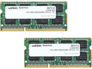 Mushkin Enhanced Essentials 8GB (2 x 4GB) 204-Pin DDR3 SO-DIMM DDR3 1333 (PC3 10600) Laptop Memory Model 997014