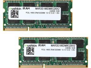 Mushkin Enhanced iRam 16GB (2 x 8GB) DDR3L 1866 (PC3L 14900) Memory for Late-2015 iMac (Core i5/i7) Model MAR3S186DM8G28X2