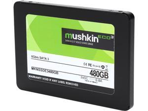 "Mushkin Enhanced ECO3 2.5"" 480GB SATA III TLC Internal Solid State Drive (SSD) MKNSSDE3480GB"