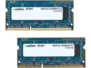 Mushkin Enhanced iRam 8GB (2 x 4GB) DDR3L 1600 (PC3L 12800) Memory for Apple Model MAR3S160BM4GX2