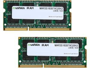 Mushkin Enhanced iRam 16GB (2 x 8GB) DDR3 1600 (PC3 12800) Memory for Apple Model MAR3S160BT8G28X2