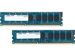 Mushkin Enhanced iRam 16GB (2 x 8GB) DDR3 1066 (PC3 8500) ECC Unbuffered Memory for Apple Model MAR3E1067T8G28X2