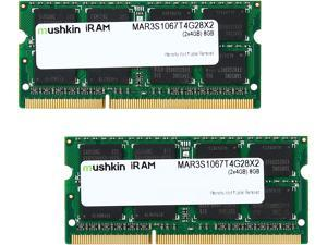 Mushkin Enhanced iRam 8GB (2 x 4GB) DDR3 1066 (PC3 8500) Memory for Apple Model MAR3S1067T4G28X2TBD